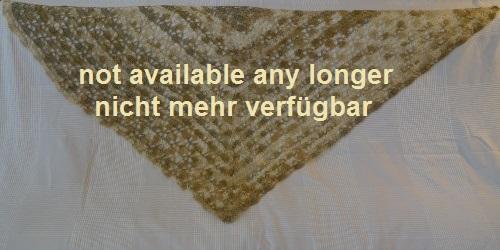 Schal VIER - gelb / weiß - 30 EUR